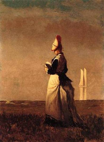 Woman Reading 1874